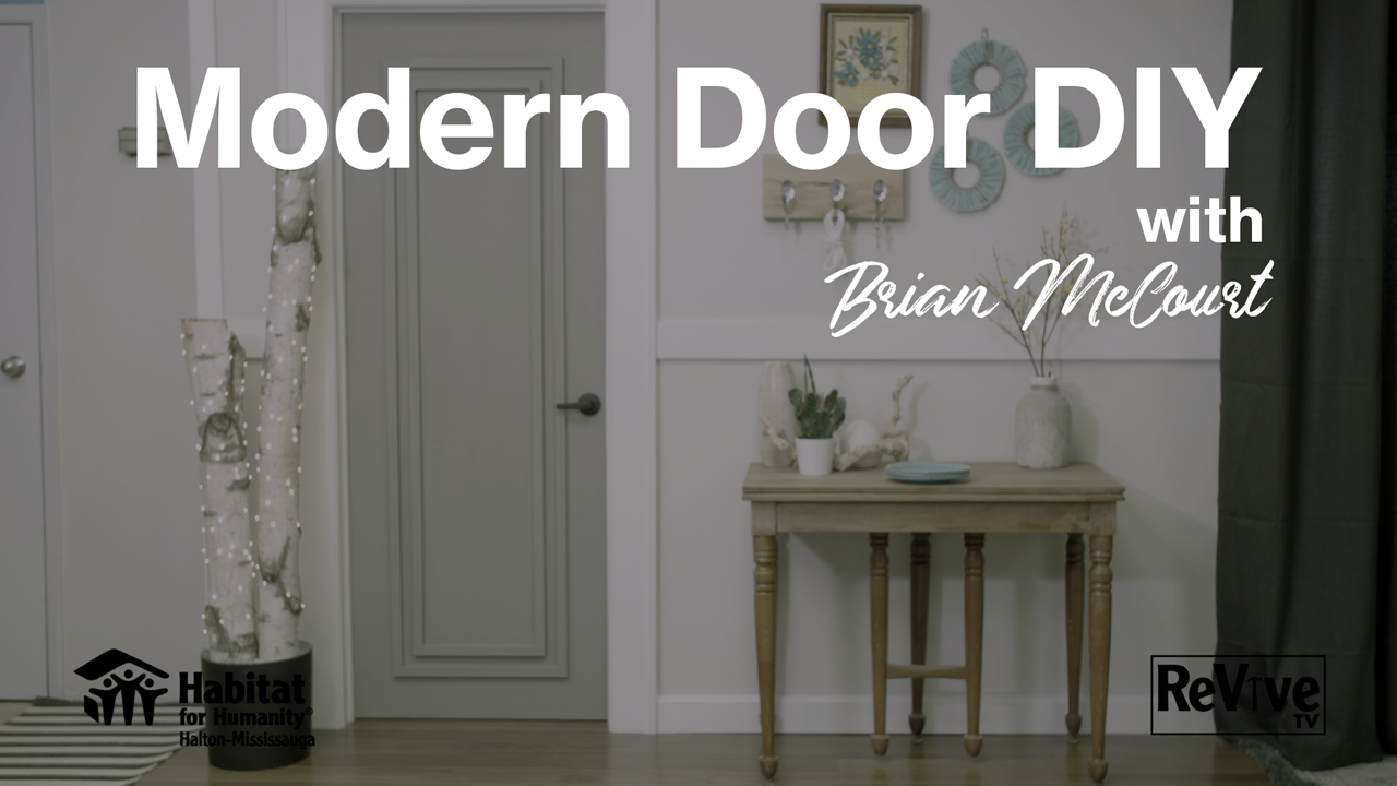 Modern Door DIY with HGTV's Brian McCourt